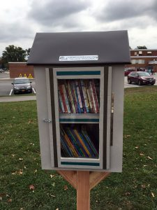 The new Little Free Library.