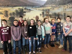 Students participate in Underground Railroad workshop