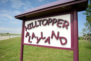 Hilltopper Playland Sign