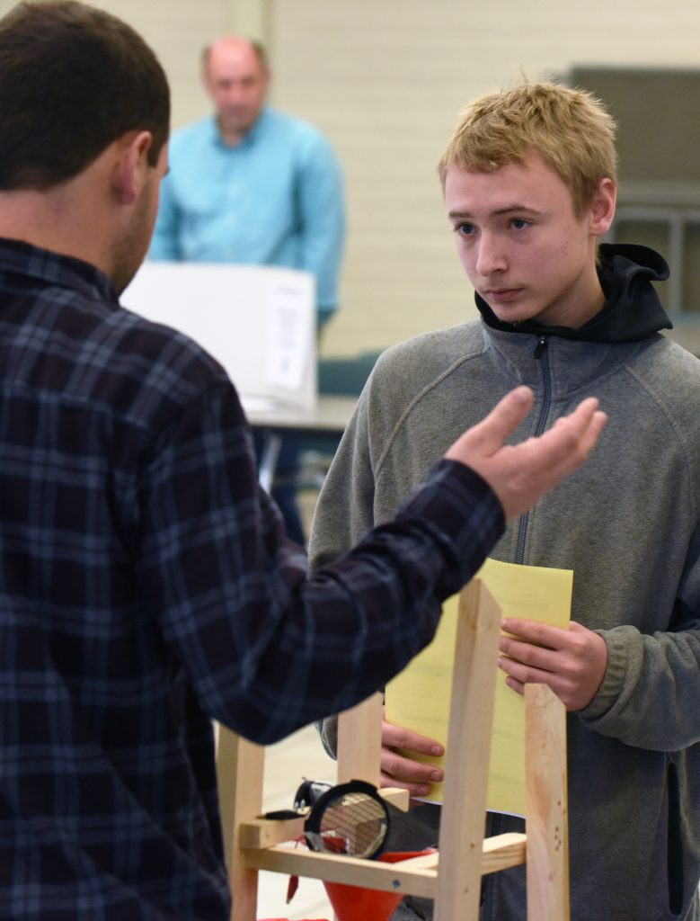 Students select electives for next year