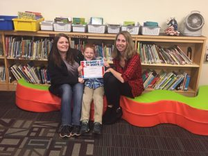 Fort Plain student of the month for January