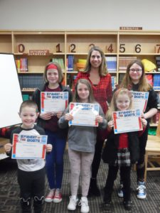 Fort Plain Students of the month for January
