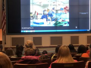 photo of an interactive Heart surgery video.