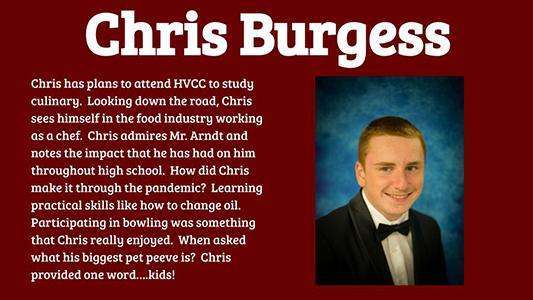 Chris Burgess profile