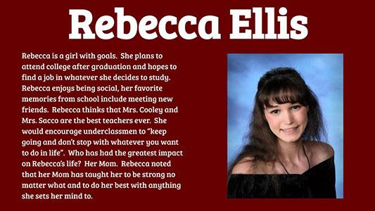 Rebecca Ellis photo and profile