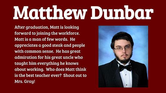 Matthew Dunbar