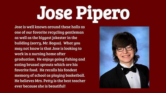 Jose Pipero photo and profile