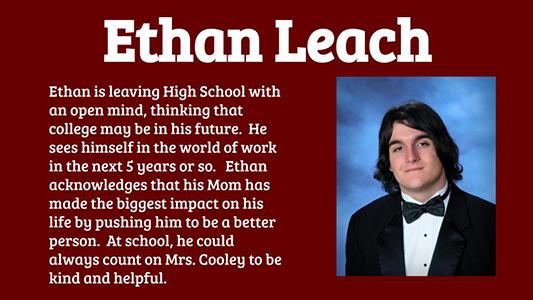 Ethan Leach spotlight