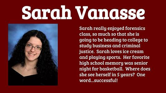 Sarah Vanasse spotlight