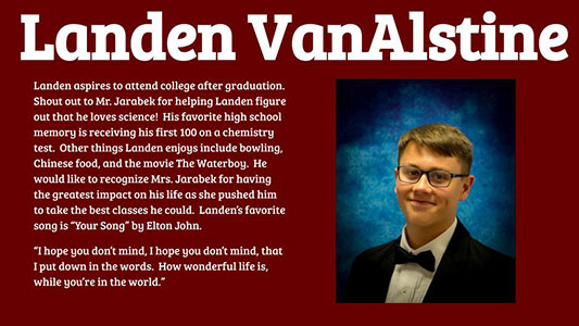 Landen VanAlstine's profile and photo