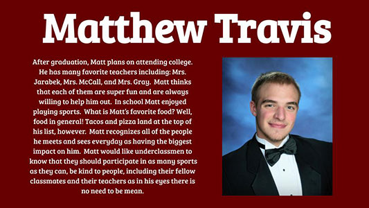 Matthew Travis photo and profile