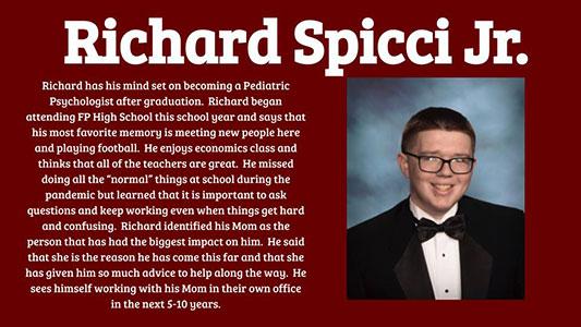 Richard Spicci Jr. photo and profile