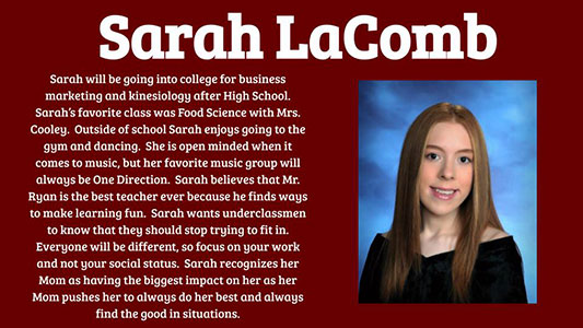 Sarah LaComb photo and profile