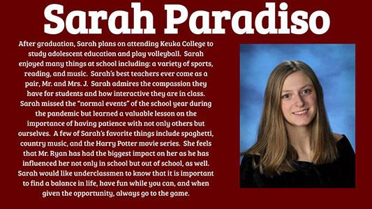 Sarah Paradiso photo and profile