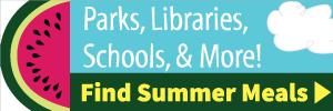 Summer meals program logo