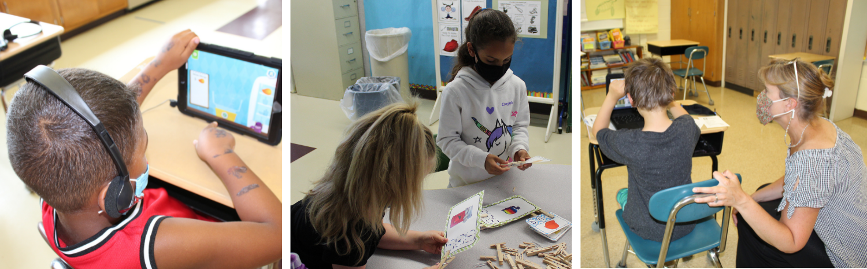 Children learning at summer enrichment program